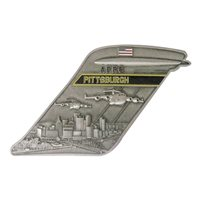 911 AES C-17 Pittsburgh Tail Flash Challenge Coin