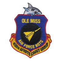 AFROTC Det 430 University of Mississippi Heritage Patch
