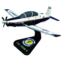558 FTS T-6A Texan II Custom Airplane Model
