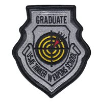 USAF Tanker Weapons School Leather Patch