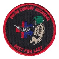 C Co 187 Flight Medic Class 36 Combat Seahorse Patch