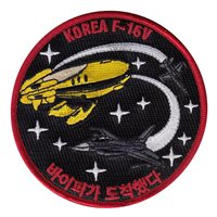 416 FLTS Korea F-16V Patch