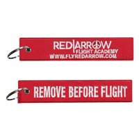 Red Arrow Flight Academy Key Flag