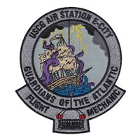 USCG Air Station E-City Flight Mechanic Patch