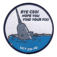 UCT Class 20-10 UCSO Patch