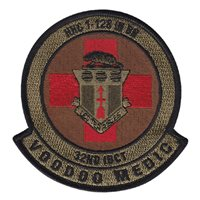 HHC 1-128 IN BN Voodoo Medics OCP Patch