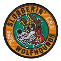 MNM Slobberrin' Wolfhounds Patch