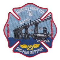 CNIC Fire & Emergency Services Det B Patch