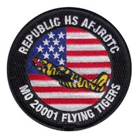 MO-20001 Flying Tigers Air Force JROTC Patch
