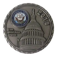 Navy Congressional Fellows Challenge Coin