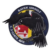 C Co. 2-224 AVN Raven Assault Patch