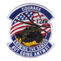 A Co 12 AVN Courage Group Patch