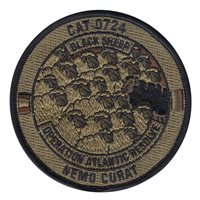 B Co CAB 407th CAT 0724 Black Sheep OCP Patch