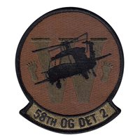 58 OG Det 2 OCP Patch