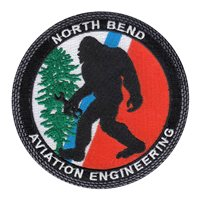 USCG North Bend Aviation Engineering Patch