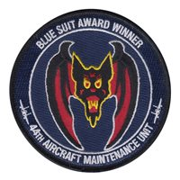 44 AMU Blue Suit Award Winner Patch