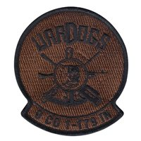 Delta Co 1179 IN Wardogs Spice Brown Patch