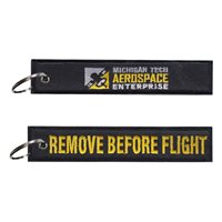 Michigan Tech Aerospace Enterprise Key Flag