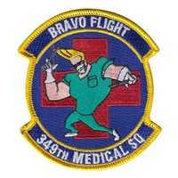 349 MDS Bravo Flight Patch