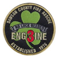 Dawson County Fire and Rescue Station 3 Patch