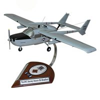 20 TASS O-2A Skymaster Custom Airplane Model