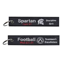 Spartans Youth Football Key Flag