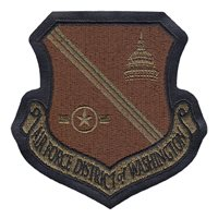 AFDW A-2 Leather Jacket OCP Patch