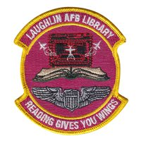 47 FSS Laughlin AFB Library Patch