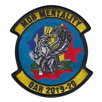B Co 1-5 CAV Mob Mentality OAR 2019-20 Patch