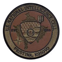 United States National Intelligence Cell Pristina OCP Patch