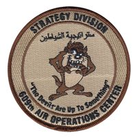609 AOC Strategy Division Patch