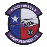 Flight for Life 2 Mount Pleasant TX Patch