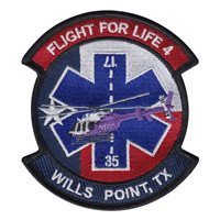 Flight for Life 4 Wills Point TX Patch