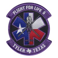 Flight for Life 5 Tyler TX Patch