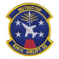 458 AS Instructor Patch