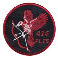 416 FLTS Bow and Arrow Patch