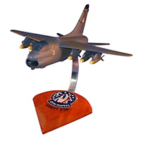 4451 TS A-7 Corsair II Custom Airplane Model