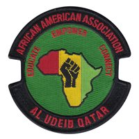 379 EMXG African American Association Patch