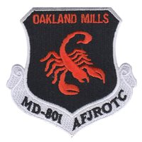 AFJROTC MD-801 Oakland Mills Patch