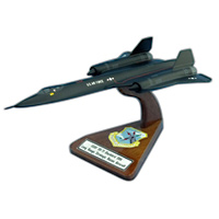 4200 SRW SR-71 Blackbird Custom Airplane Model