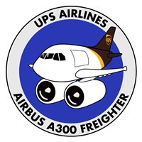 UPS Airlines Airbus A300 Freighter Patch