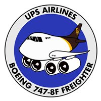 UPS Airlines Boeing 747-8F Freighter Patch