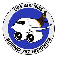 UPS Airlines Boeing 767 Freighter Patch