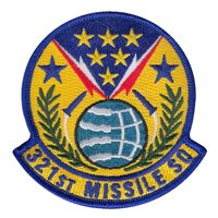 321 MS ICBM Patch