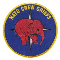 NATO Crew Chiefs Pink Elephant Patch