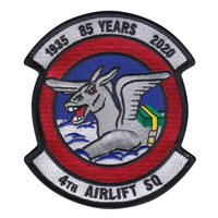 4 AS 85 Years Patch