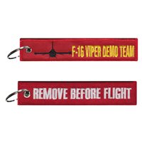 F-16 Viper Demo Team Key Flag