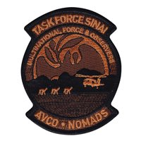 AVCO Task Force Sinai Patch