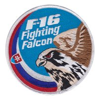 F-16 Slovakia Fighting Falcon Patch