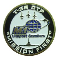 T-38 CTP Custom Air Force Challenge Coin